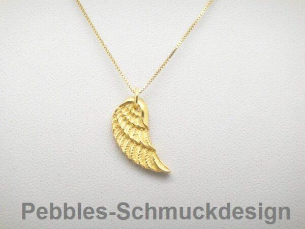 Engelsflügel...Halskette  925 vergoldet...so edel
