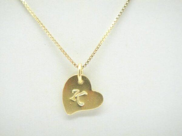 Sweet Heart! Kette Wunschbuchsabe 925 vergoldet