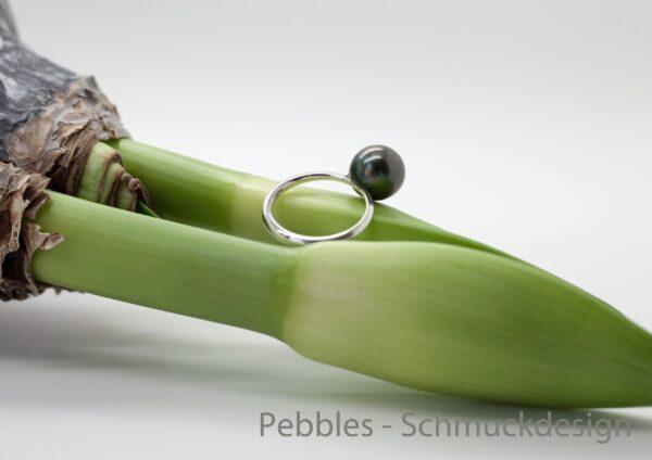 Tahitiperle...edler  Ring 925 Silber