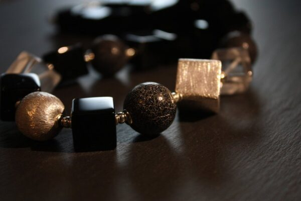 Black Beauty...edles Collier