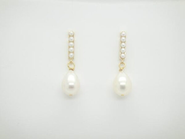 PUR! Ohrstecker edle Perlen & 925 vergoldet