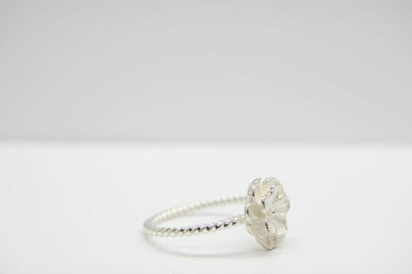 Romantik ..Ring zart 925 Silber & rosè vergoldet