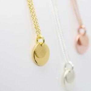 Secret Letter :-) zarte Halskette 925 & vergoldet