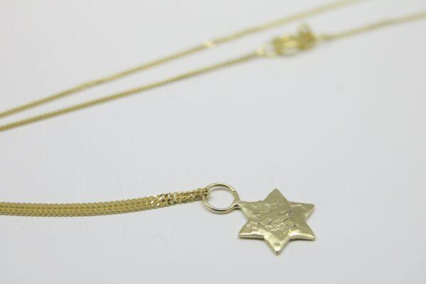My Star...edle Goldkette mit funkelndem  Stern