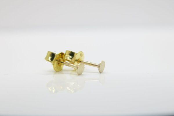 Pünktchen...zarter 3mm Ohrstecker 333er Gold