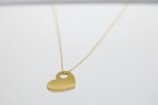 My heart...zarte 585 Goldkette mit Herz &