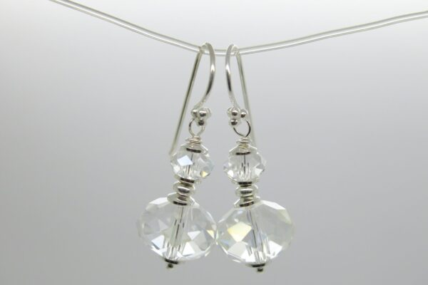 Kristallklar....edle Ohrringe  925 Silber