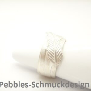 Feather...edler Ring  aus 925 Silber