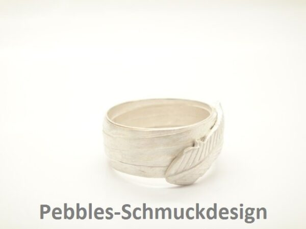 Feather...edler Ring  aus 925 Silber