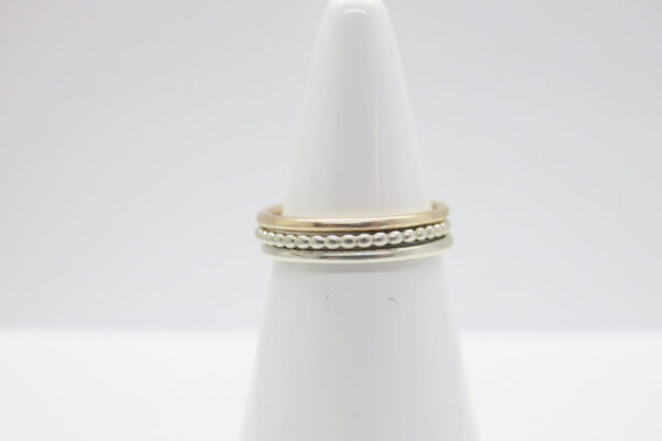 Trinity...edler Ring in 8k Gold +925 Silber
