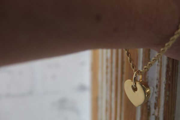 Heart:-) edles Armband 375 Gold mit Herz