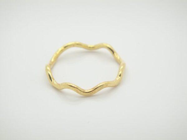 Wave...Ring ganz zart in 925 vergoldet