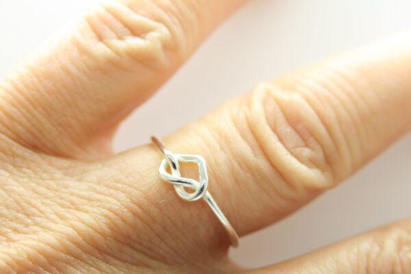 Ring LOVE...ganz zart aus 925 Silber