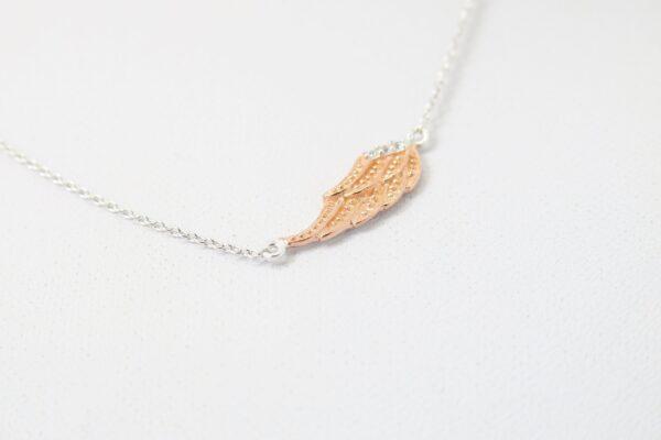 Engel...zarte Kette rose Angel 925 Silber