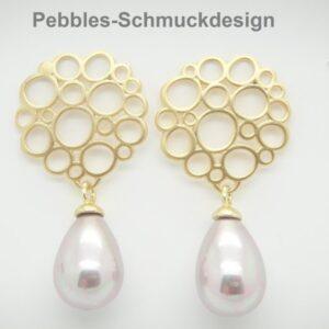 Bubbles.....edle Ohrstecker mit Perlen!!!