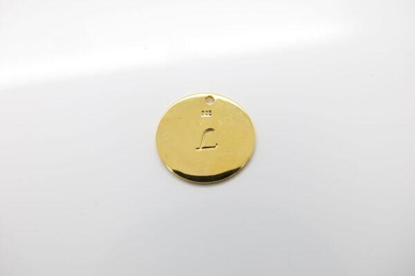 Statement!! edle Punkt Halskette 925 vergoldet
