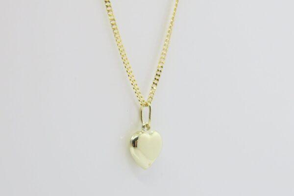 Tiny Heart.. zartes Herz an 585er Goldkette