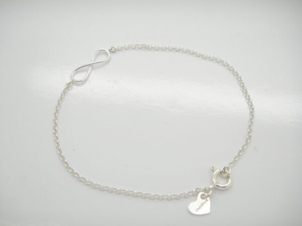 Infinity!! ganz zartes Armband in 925 Silber