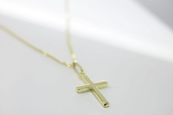 Edel...Goldkette 8k mit schönem Kreuzanhänger